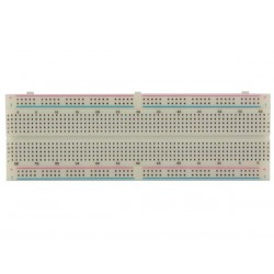 SOLDERLESS BREADBOARD - 830 HOLES