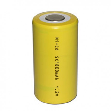 RECHARGABLE BATTERY LR14 Ni-Cd 1600mAh