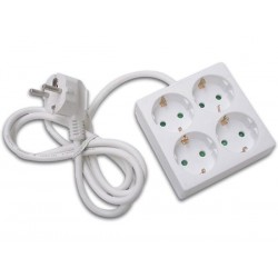 NET POWER BLOCK 4 PLUGS - SQUARE