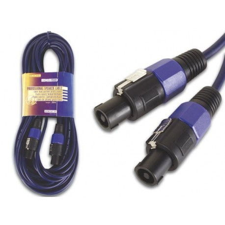 LOUDSPEAKER CONNECTOR 4P MALE TO MALE (20m)