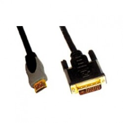 CABLE HDMI MALE - DVI MALE 10m