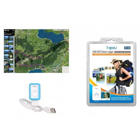 USB GPS TRAVEL LOGGER