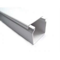 ADHESIVE WALL CHANNEL  30x16mm  2m/piece