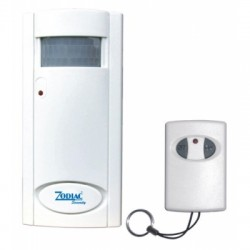 PIR HOME ALARM SYSTEM WITH WIRELESS REMOTE