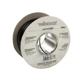 MOUNTING WIRE 0.50mm² - VIOLET- MULTICORE