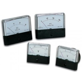 ANALOGUE VOLTAGE PANEL METER 15V DC / 70 x 60mm