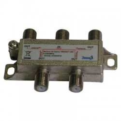 4-WAY SPLITTER 5-2400MHz