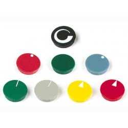LID FOR 21mm BUTTON (BLACK)