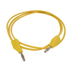 TEST LEADS (MOULDED BANANA PLUG 4mm) / YELLOW
