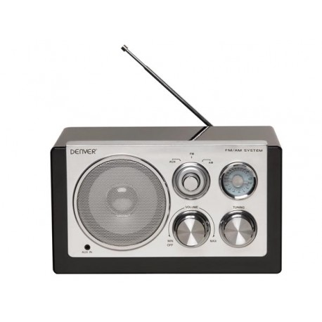 RADIO IN SMART DESIGN - BLACK