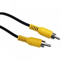 COAXIAL CABLE  75 OHM. 1xRCA TO 1xRCA (1.2m)