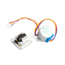 5 VDC STEPPER MOTOR WITH ULN2003 DRIVER BOARD