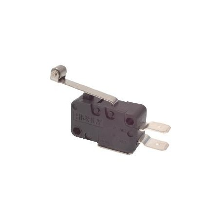 MICROSWITCH 16A, LONG LEVER WITH ROLLER
