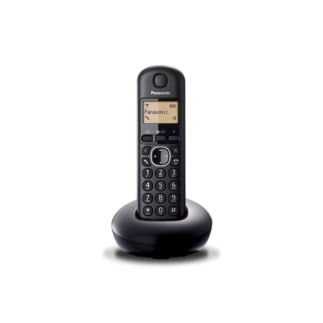 CORDLESS TELEPHONE PANASONIC BLACK mod:KX-TGB210