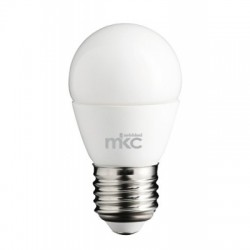 SMALL SPHERICAL BULB WITH DAYLIGHT LED 5.5W/220V E27