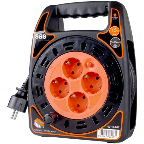 CABLE REEL 15m - 3G1.5