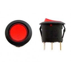 ILLUMINATED RED SWITCH ON/OFF 220V