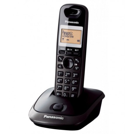 CORDLESS TELEPHONE PANASONIC BLACK mod:KX-TG2511