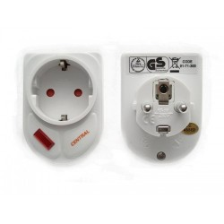 SURGE PROTECTION SOCKET WITH NOISE FILTER