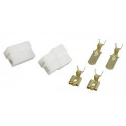 SET OF 2PIN MALE & FEMALE CONNECTORS
