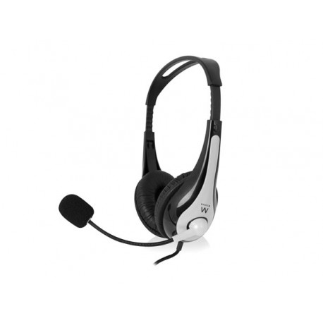 STEREO HEADSET WITH MICROPHONE & VOLUME CONTROL