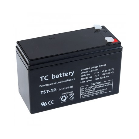 LEAD ACID BATTERY 12V/7AH