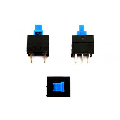 SQUARE TOUCH SWITCH ON-OFF WITH 6 CONTACTS