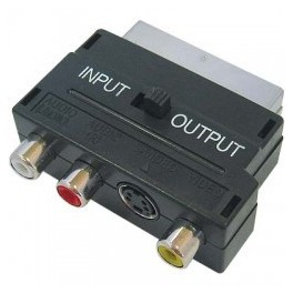 ADAPTOR SCART TO RCA & SVIDEO