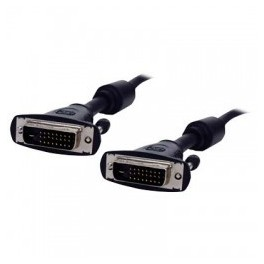CABLE DVI-D DUAL MALE TO DVI-D DUAL MALE 1,8m