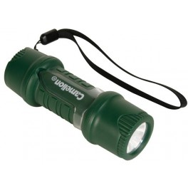 WATER AND SHOCK-RESISTANT TORCH WITH EXTRA BRIGHT WHITE LED - 40lm-1W