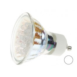 WARM WHITE GU10 LED LAMP - 240VAC