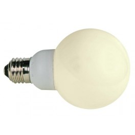 WARM WHITE  E27 LED LAMP - 230VAC - 20 LEDs