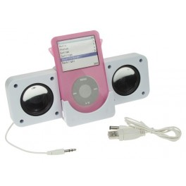 SPEAKER SET FOR iPOD & MP3 PLAYERS