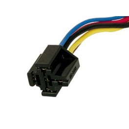 SOCKET FOR CAR RELAY - WITH WIRE