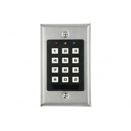SELF CONTAINED DIGITAL ACCESS CONTROL KEYPAD - 3ch
