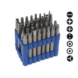 SECURITY BIT SET (7.5cm) - 32 pcs