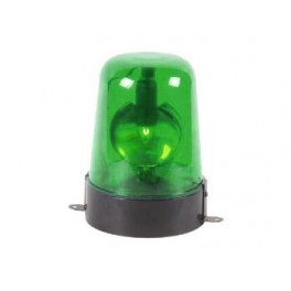 ROTATING LIGHT - GREEN - (WITH ADAPTER 12VAC)