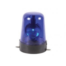 ROTATING LIGHT - BLUE - (WITH ADAPTER 12VAC)