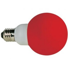 RED LED lamp - E27 - 20 LEDs - Ø60 cm