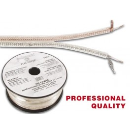 PROFESSIONAL PICK-UP CABLE 2x0.25mm2 SILVER-GOLD