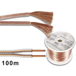 PROFESSIONAL LS CABLE 2x1.50mm2 TRANSPARENT.