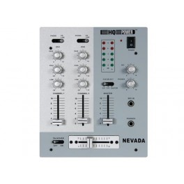 PROFESSIONAL  MIXER 3 CHANNELS LINE/PHONO + 1 MICROPHONE CHANNEL