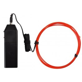 PORTABLE EL WIRE SET. 1.5m. RED