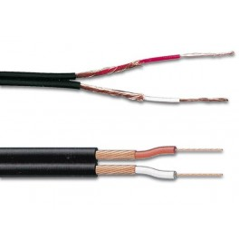 PICK-UP CABLE 2 x 0.25mm2 BLACK. LENGTH ON