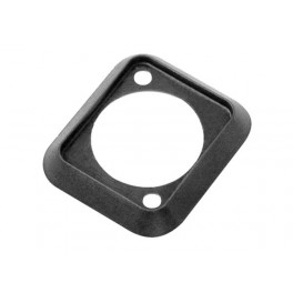 NEUTRIK - BLACK Sealing Gasket. D-shape. dust-and water resistant