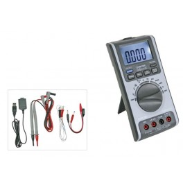 MULTIMETER WITH USB INTERFACE - 6 000 COUNTS