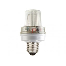MINI STROBE LAMP WHITE. 3.5W. E27 SOCKET