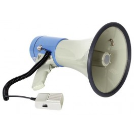 MEGAPHONE WITH SD CARD-SLOT and USB-SLOT - 25W