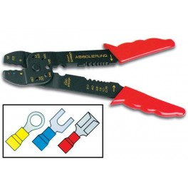 "LOW-COST CRIMPING TOOL 8"" FOR FAST-ON CONNECTORS"