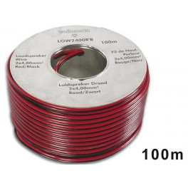 LOUDSPEAKER WIRE 2x4.00mm2 RED/BLACK.
